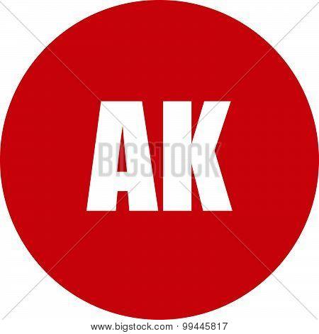 Ak State Icon