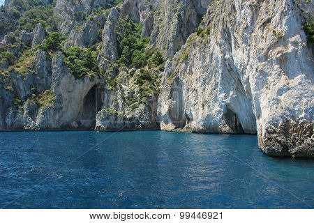 Grotto In Capri