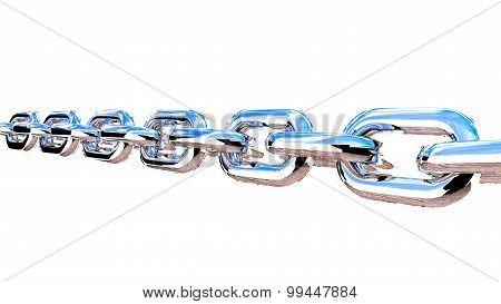 Metal Realistic Chain