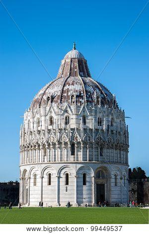 Baptistry in Pisa, Italy