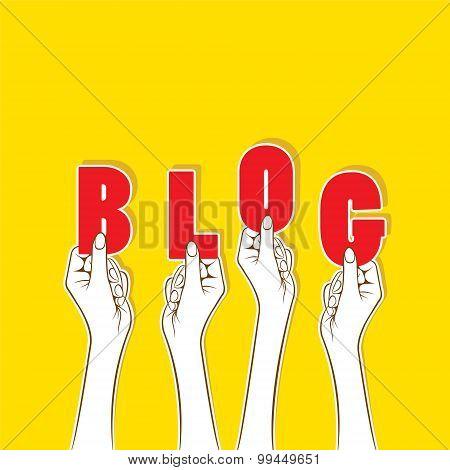blog banner concept design