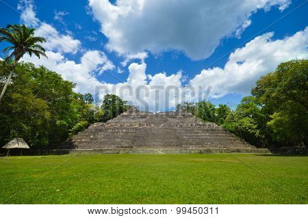 Caracol archeological site of Mayan civilization in Western Belize