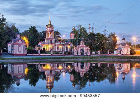 Historical Altufevo Estate, Moscow, Russia