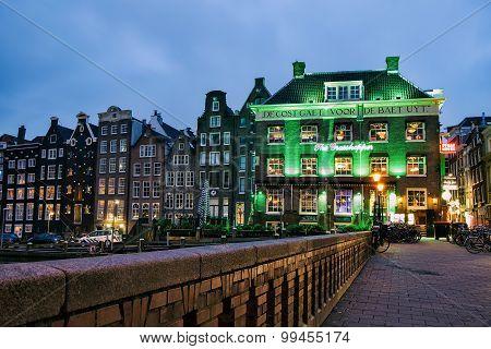 The Grasshopper cannabis coffee shop, Amsterdam Netherlands
