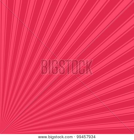 Amaranth Color Stripe Funky Sun Rays Backgound