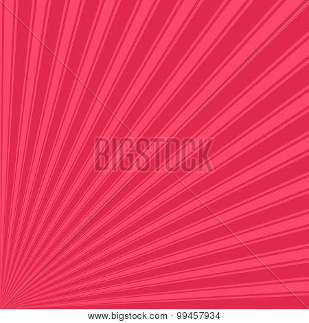 Amaranth Color Stripe Funky Sun Rays Backgound