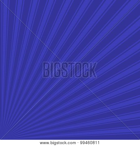 Blue (pigment) Color Stripe Funky Sun Rays Backgound