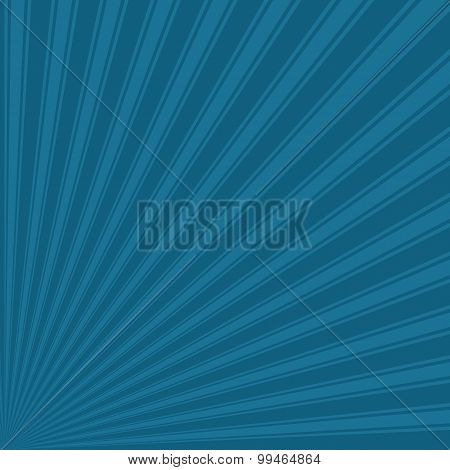 Blue sapphire Color Stripe Funky Sun Rays Backgound