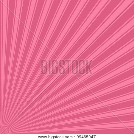 Blush Color Stripe Funky Sun Rays Backgound