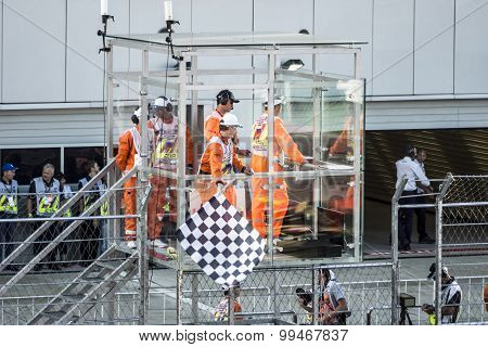 The Chequered Flag First Grand Prix Of Russia.