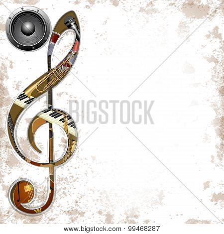 Musical Background Instruments