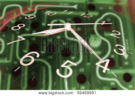 Clock And Maze Game