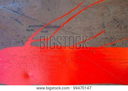 iron surface is covered with paint texture background