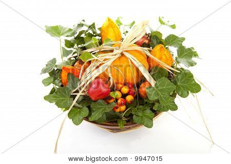 Flower Arrangement For Halloween