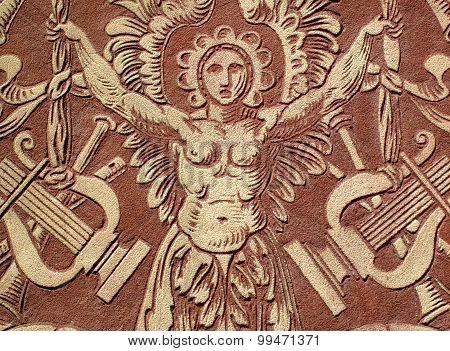 Relief of Saint Cecilia