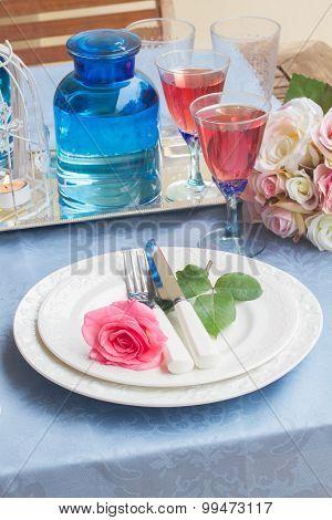 Tableware for dinner