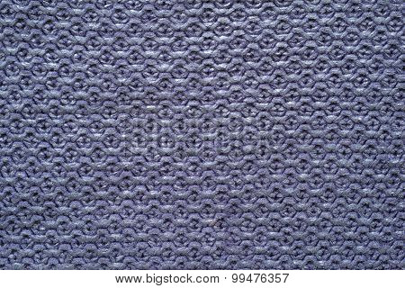 Knitted Cellular Texture Of Violet Color