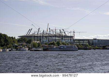 Construction Of A Stadium,