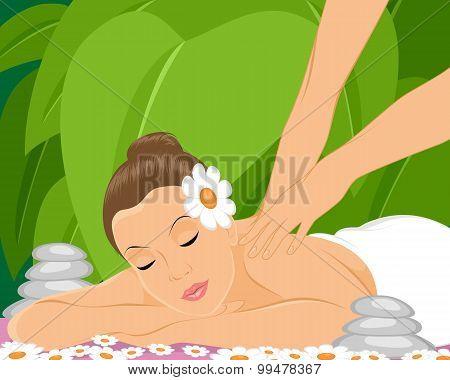 Masseur Makes Massage