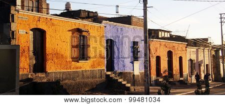 Colourful houses - Arequipa