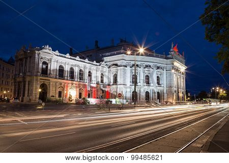 Burgtheater In Vienna