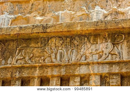 Persepolis lions relief