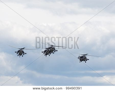 Helicopter Aerobatic Team Golden Eagles