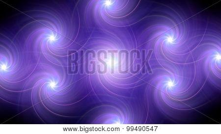 Twirl Flare Pattern Purple