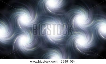 Twirl Flare Pattern Black White Blur