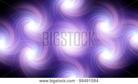 Twirl Flare Pattern Purple Blur