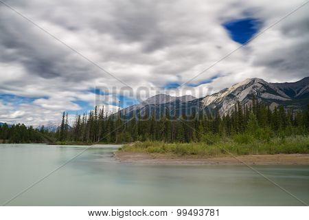 Athabasca River Near Jasper