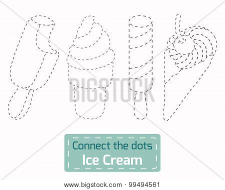 Connect The Dots (ice Cream)