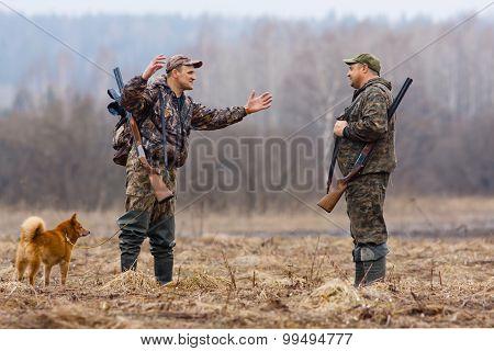 Conversation Between Two Hunters