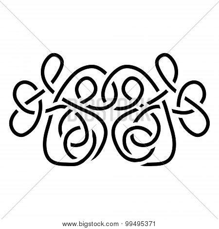 Traditional Vector Celtic Ornament