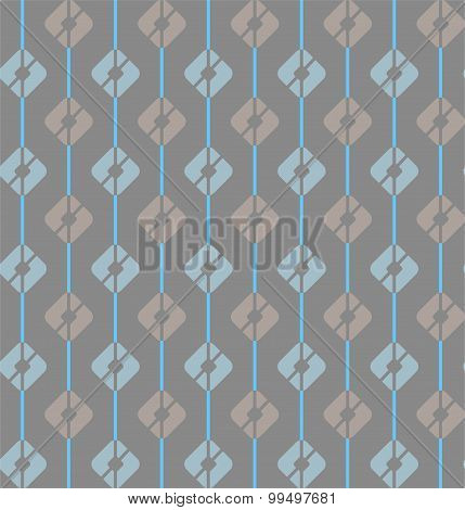 Gray, Seamless Pattern, Squar...