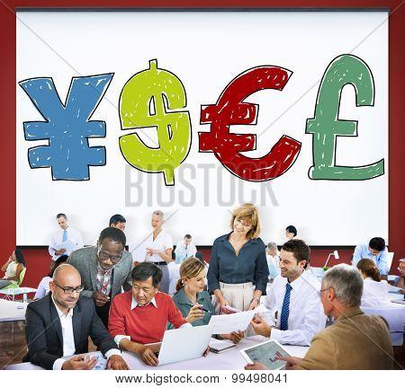 Money Currency Symbol Finance Exchange Concept