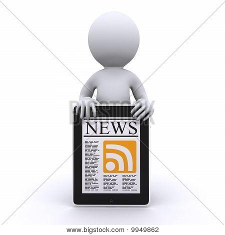 Humanos 3D leer sus noticias en línea