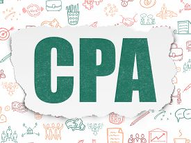 foto of cpa  - Business concept - JPG