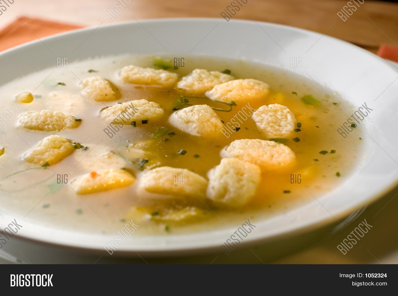 Суп с клёцками без яйца пошаговый рецепт