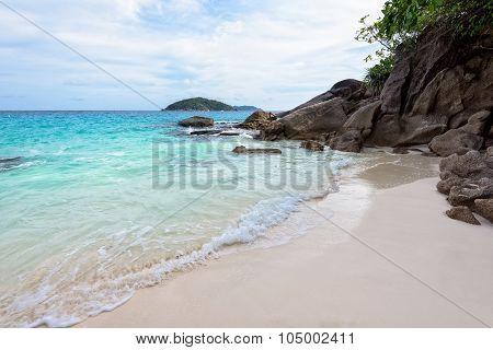 Small Beach In Thailand