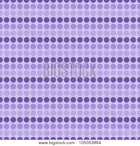Purple Polka Dot  Abstract Design Tile Pattern Repeat Background