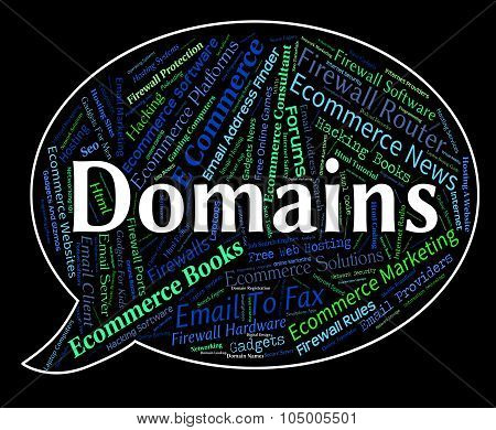 Domains Word Indicates Words Web And Text