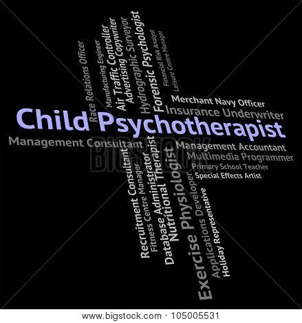 Child Psychotherapist Represents Disturbed Mind And Career