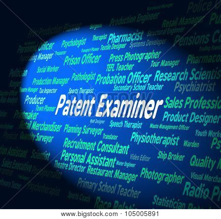 Patent Examiner Represents Legal Protection And Adjudicator