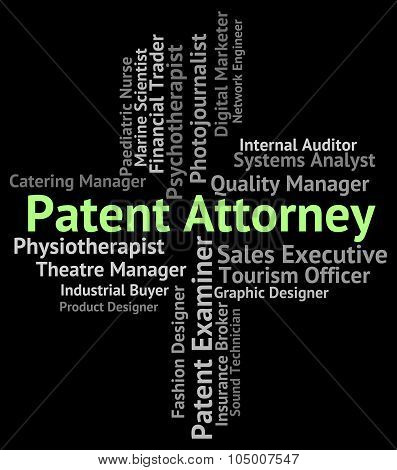 Patent Attorney Represents Legal Representative And Qc