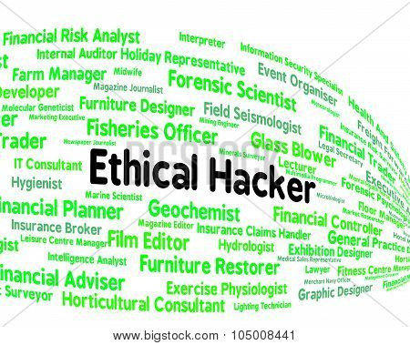 Ethical Hacker Indicates Contract Out And Attack