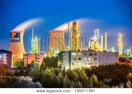 Oil Refinery, Romania