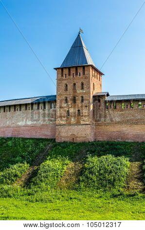 View On Kremlin In Veliky Novgorod