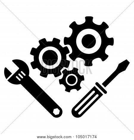 Mechanics Tools Icon