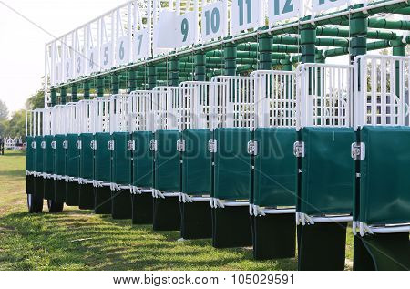Brand New Sarting Gate For Horse Races